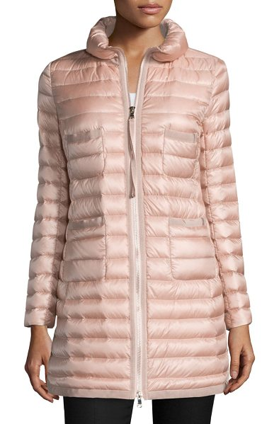 """MONCLER Bogue Puffer Jacket - Moncler """"Bogue"""" channel-quilted puffer jacket. Stand..."""