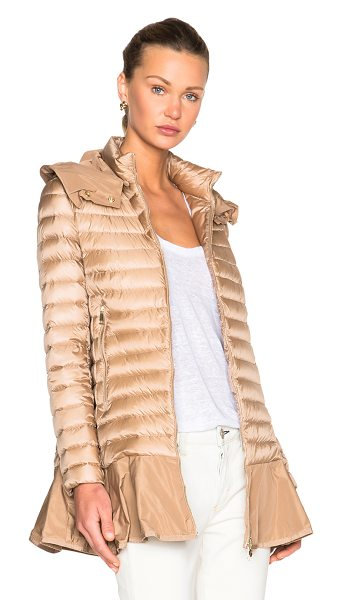 MONCLER Daurade Jacket - Self: 100% poly - Filling: 90% down 10% feather.  Made...
