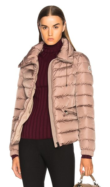 Moncler Irex Jacket in neutrals,pink - Self, Contrast & Lining: 100% polyamide - Padding: 90%...