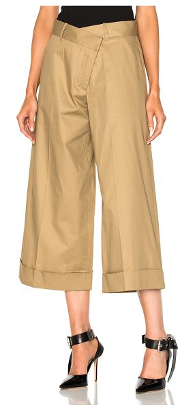 Monse Pant in neutrals - Self: 100% cotton - Lining: 100% silk.  Made in China. ...