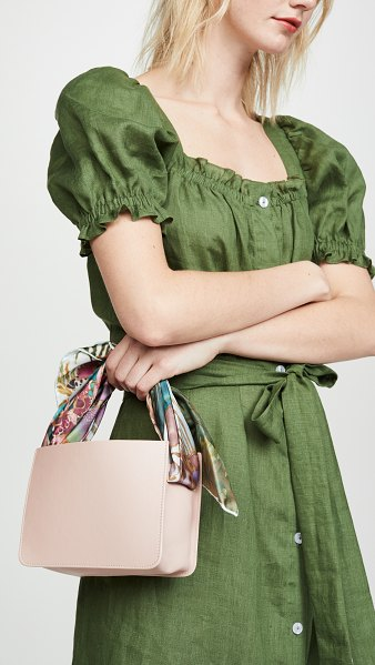 Montunas guaria mini bag in blush/orquidea