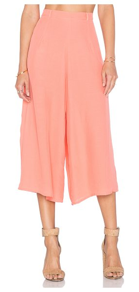 Motel Giani culotte pant in coral