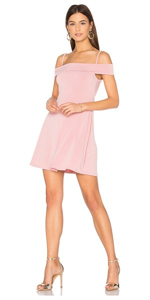 Motel Widuri Dress in blush - 90% poly 10% elastane. Hand wash cold. Unlined. Jersey...