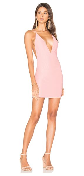 Motel Winston Dress in pink - Viscose blend. Hand wash cold. Unlined. Crisscross...