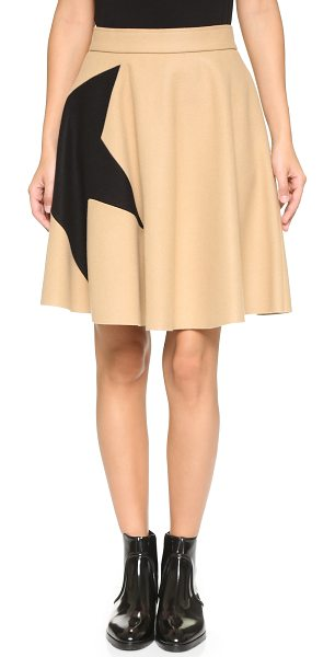 MSGM Star skirt - This bold, playful MSGM circle skirt has an oversized...