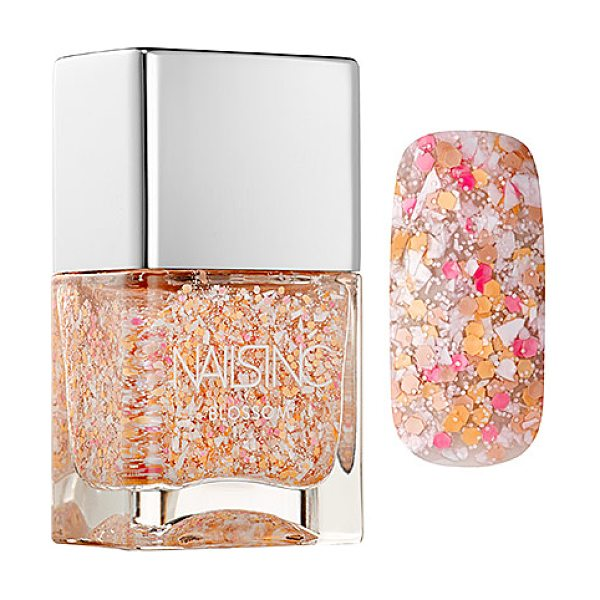 nails inc. blossom effect nail polish cherry garden street - A nail polish infused with fine white particles and...