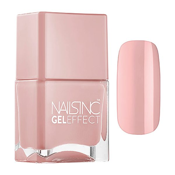 NAILS INC. gel effect mayfair lane - A high-gloss nail polish that mimics the plumping...