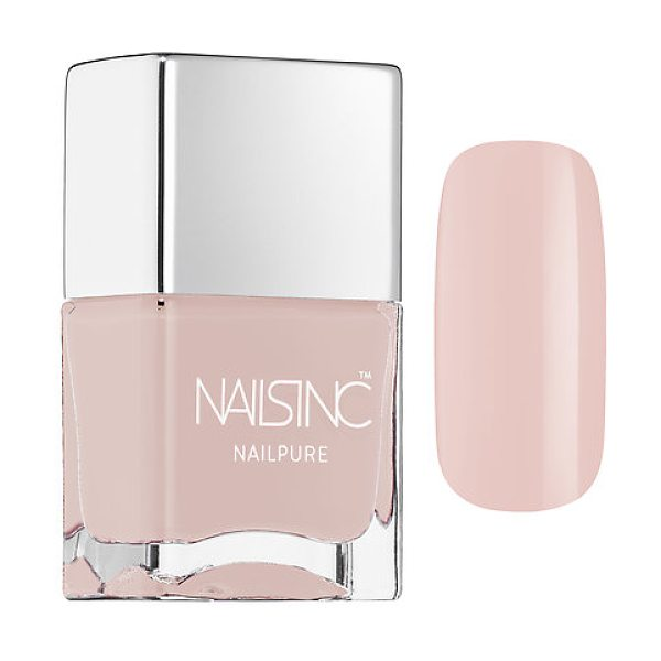 nails inc. nailpure nail polish london court - A high shine, long-lasting nail color created with a...