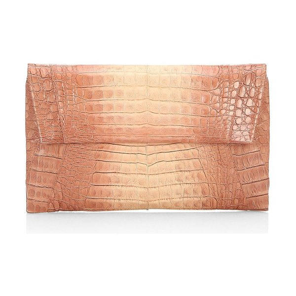 1892089f05 Nancy Gonzalez Crocodile Envelope Clutch