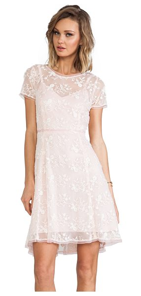 NANETTE LEPORE Lacy not racy dress - Nylon blend. Fully lined. Dry clean only. Embroidered...