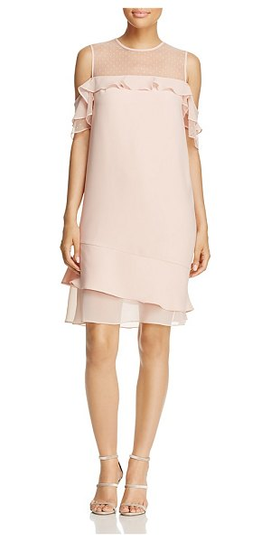 Nanette Nanette Lepore nanette Nanette Lepore Cold-Shoulder Dress in barely blush - nanette Nanette Lepore Cold-Shoulder Dress-Women