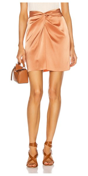 NANUSHKA milo skirt in apricot