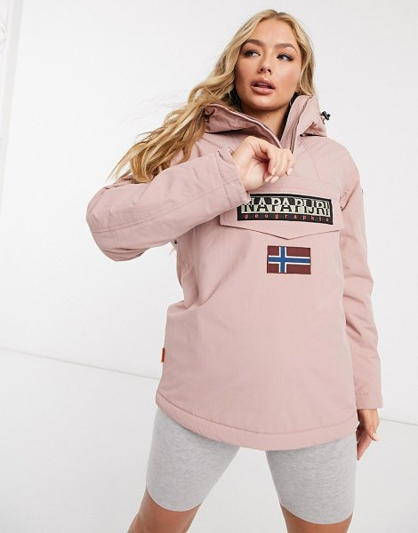 Napapijri rainforest winter 4 jacket in pink in pink