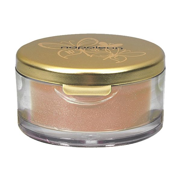 Napoleon Perdis Loose eye dust in proud peacock - A highly pigmented loose powder in a canister that...