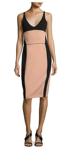 NARCISO RODRIGUEZ Sleeveless Bustier Sheath Dress - Narciso Rodriguez dress with bustier-style construction....