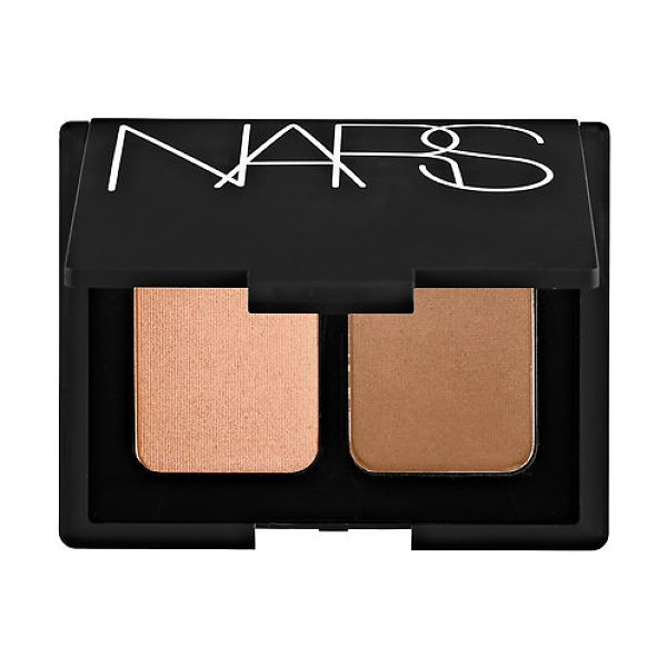 NARS blush duo hot sand/ laguna 2 x 0.17 oz/ 5.02 g - A limited-edition blush duo that delivers a...
