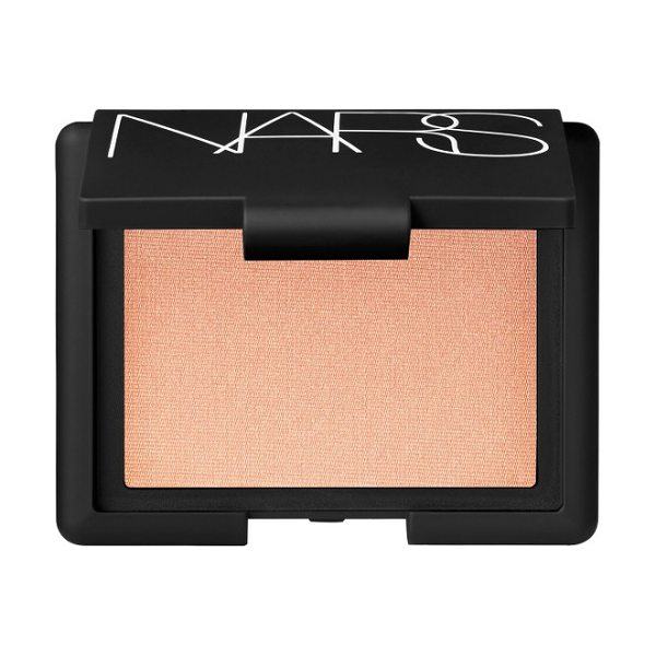 NARS hot sand highlighting blush in hot sand