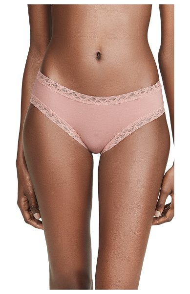 Natori bliss cotton girl briefs in frose
