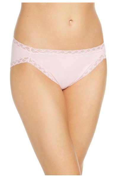 Natori bliss french cut briefs in pink