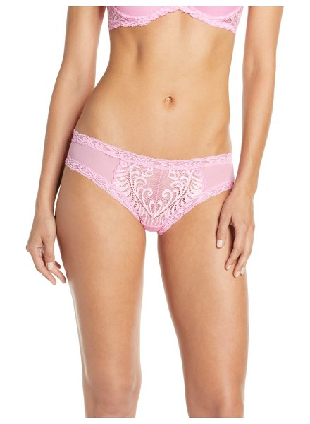 Natori feathers hipster briefs in pink