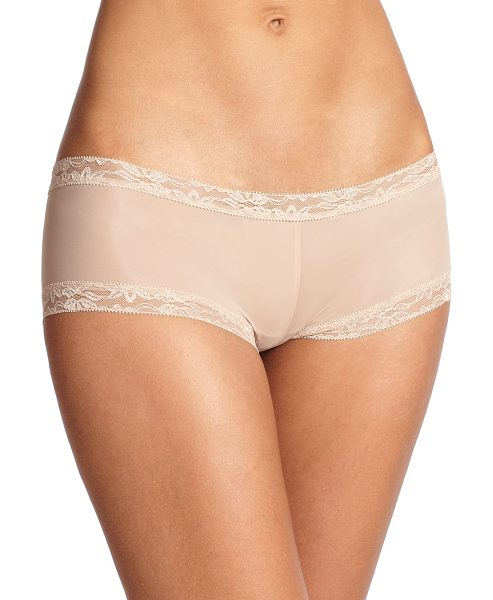 NATORI FOUNDATIONS Bliss smooth girl short - Trimmed in lace for a sumptuous touch, a smooth,...