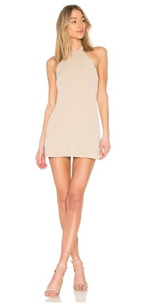 NBD Don't Turn Back Dress in nude - Good times lie ahead in NBD's Don't Turn Back Dress....