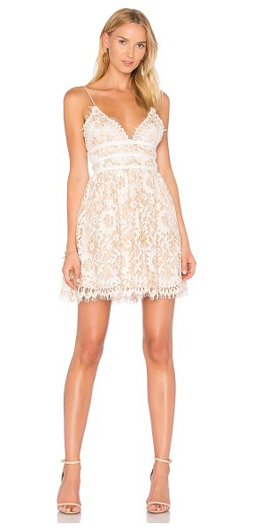 NBD Give it Up Dress in cream - The Give It Up Dress by NBD is second to none. Delicate...