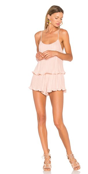 "NBD Lyric Romper - ""Just feminine enough to make a statement. Designed in a..."