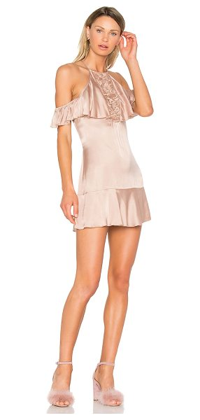 NBD Maxime Dress in taupe - Get ready for major romancing in the NBD Maxime Dress, a...
