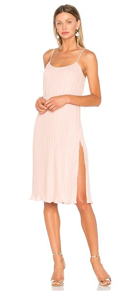 NBD Wynonna Dress in blush - Decisions, decisions. Designed in a lightweight crinkle...