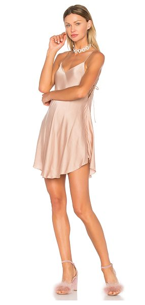 NBD x REVOLVE Foley Dress in taupe - A slinky slip dress with night-out appeal, the REVOLVE...