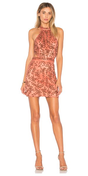 NBD x REVOLVE Gabriela Dress in rose - Self: 100% nylonLining: 92% poly 8% spandex. Dry clean...