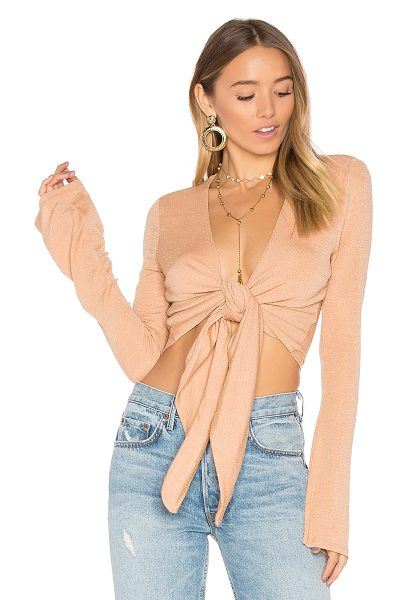 NBD Geovanni Top in tan - Fly girl fashion brought to you by NBD x REVOLVE....