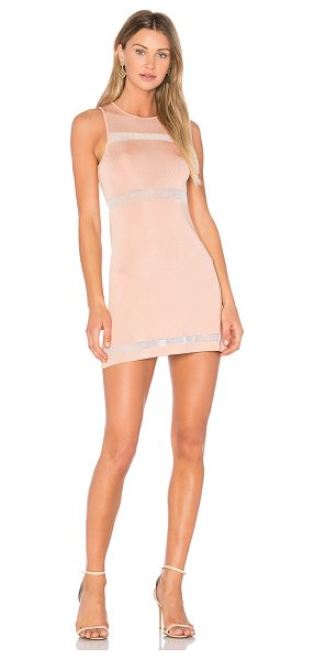 NBD x REVOLVE Valencia Dress in blush - Made for the mod girl living in today's fast-paced...