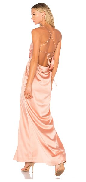 NBD x REVOLVE Zane Gown - Step into sultry satin perfection with the NBD Zane...