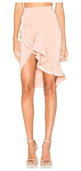 "NBD x REVOLVE Zayleigh Skirt in tan - ""Pump up the volume with NBD's Zayleigh Skirt. This..."