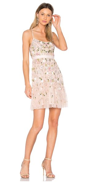 Needle & Thread Blossom Tulle Dress in pink - Self: 100% nylonLining: 100% poly. Dry clean only. Fully...