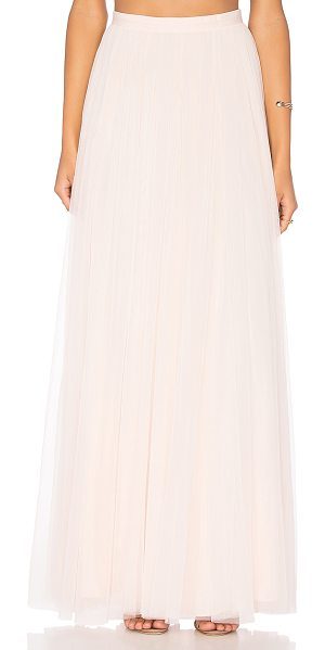 Needle & Thread Tulle Maxi Skirt in pink - Shell: 100% nylonLining: 100% poly. Dry clean only....