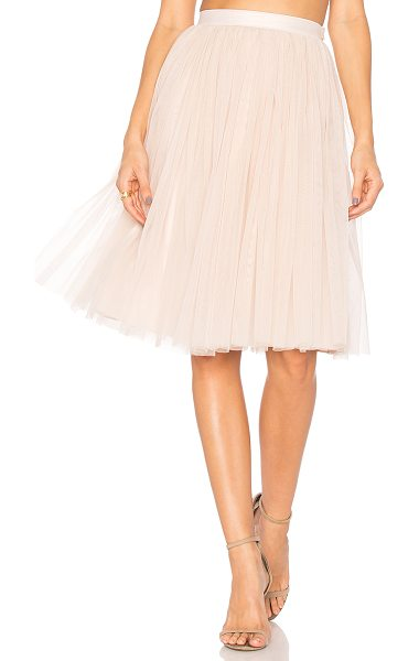 "Needle & Thread Tulle Midi Skirt in pink - ""Shell: 100% nylonLining: 100% poly. Dry clean only...."