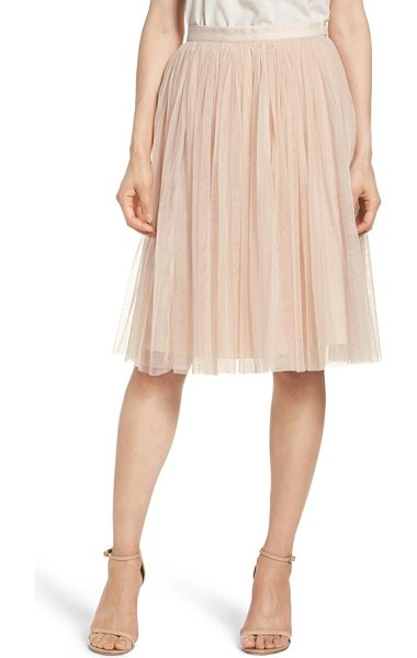 Needle & Thread tulle skirt in petal pink - Party ready in ballet-inspired layers of frothy tulle.