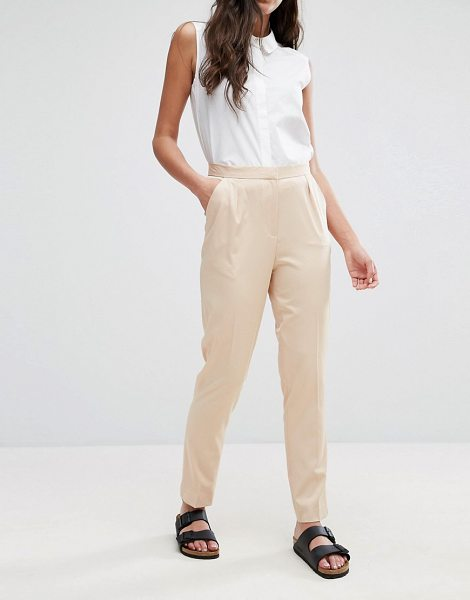 "Neon Rose Cigarette Pant in beige - """"Cigarette pants by Neon Rose, Smooth woven fabric,..."