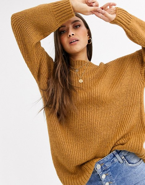 Neon Rose ultimate relaxed sweater-brown in brown