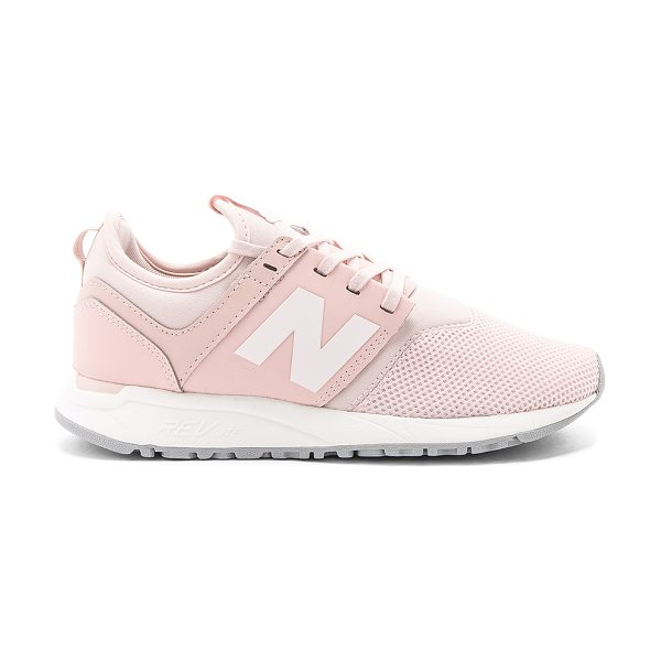 New Balance 247 Sneaker in blush - Textile and man made upper with rubber sole. Lace-up...