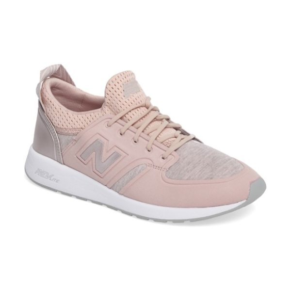 New Balance '420' sneaker in faded rose - Vintage-inspired style defines an easy, laid-back...