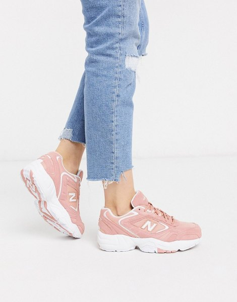 New Balance 452 sneakers in pink in pink