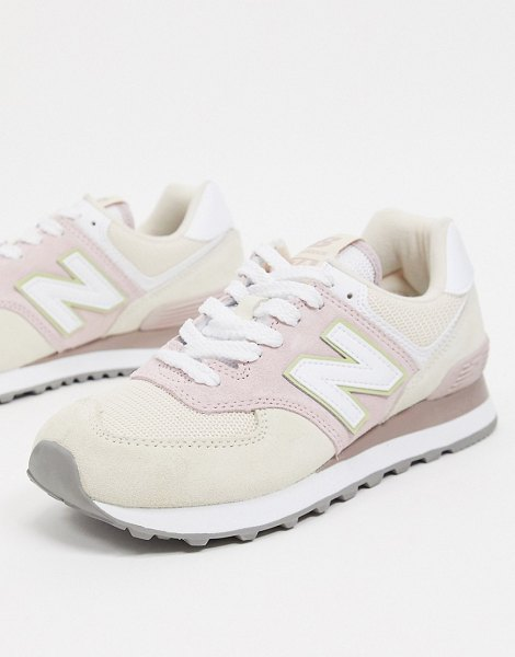New Balance 574 sneakers in pink in pink
