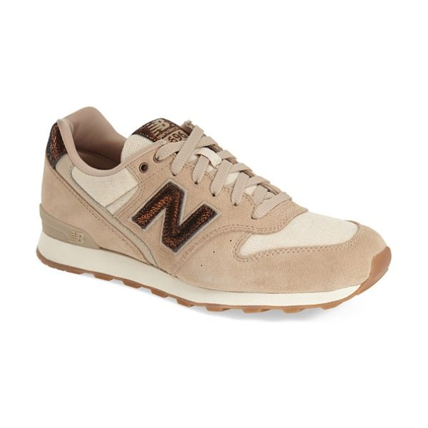 NEW BALANCE 696 sneaker - New Balance re-launches its iconic 696 sneaker in lush,...