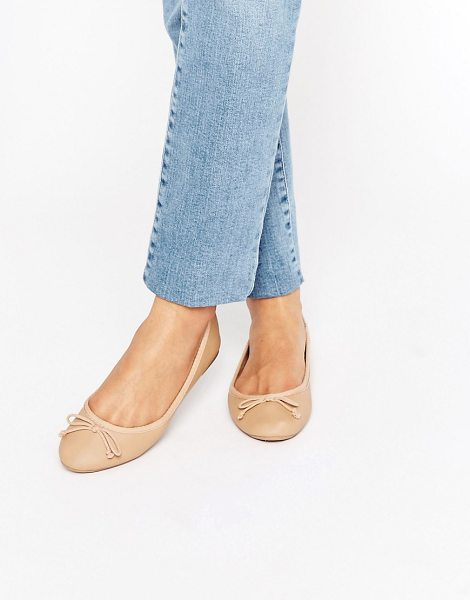 NEW LOOK Ballet Pump - Flat shoes by New Look, Faux-leather upper, Slip-on...