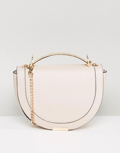"""New Look Circle Cross Body Bag in pink - """"""""Cart by New Look, Faux-leather outer, Fully lined,..."""