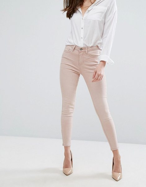 "New Look Colored Skinny Jeans in pink - """"Skinny jeans by New Look, Stretch denim, Mid-rise..."